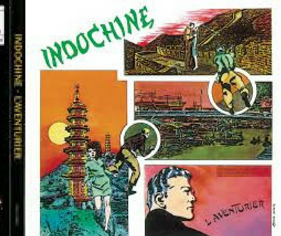 La couverture de l'album l'aventurier d'indochine