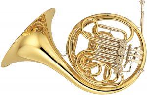 Instrument transpositeur en fa. Le cor.