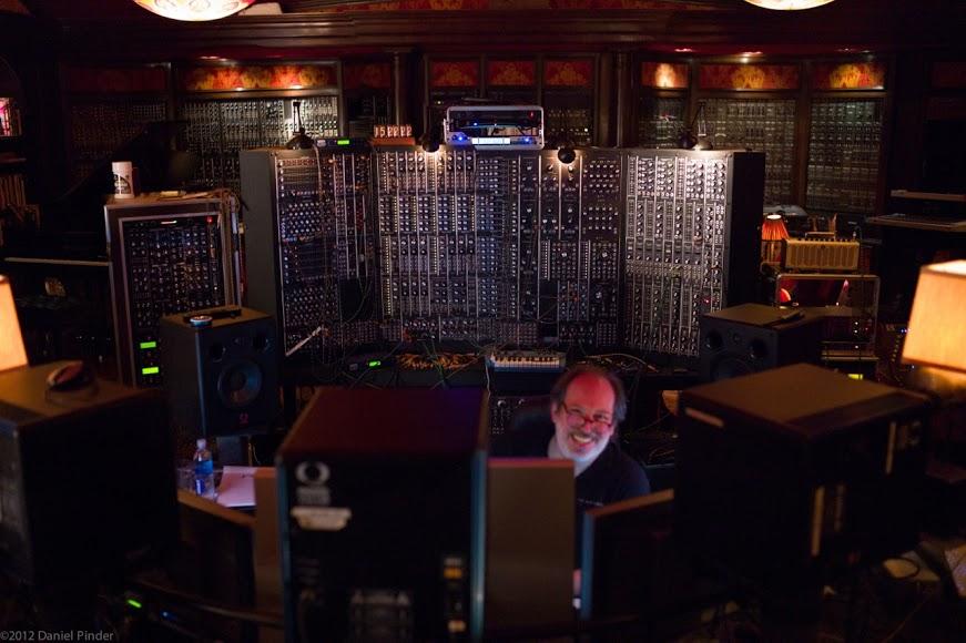 Le studio de composition de Hans Zimmer