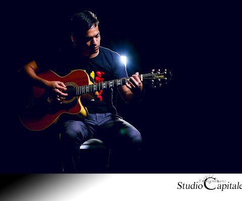 Enregistrer une guitare acoustique en studio