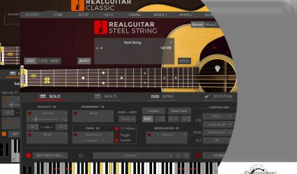 Le logiciel Real Guitar Bundle MusicLab